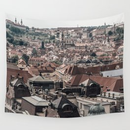Prague Rooftop 04 Wall Tapestry