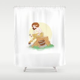 Silky Smooth Shower Curtain