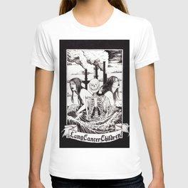Lung cancer children T-shirt