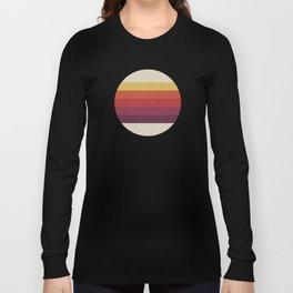 Retro Video Cassette Color Palette Long Sleeve T-shirt