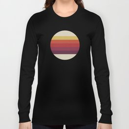 Retro Video Cassette Color Palette Long Sleeve T-shirt