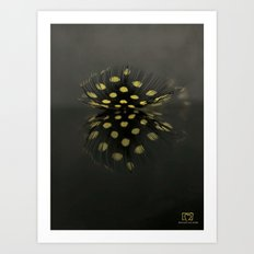 Pause for reflection Art Print