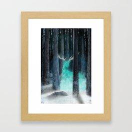 frost, flares Framed Art Print