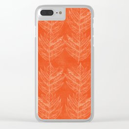Leaf 3 Clear iPhone Case
