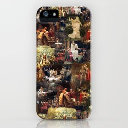 Arthurian Romances iPhone Case