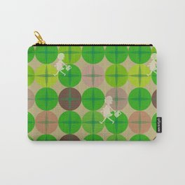 Glass Of Grass Carry-All Pouch