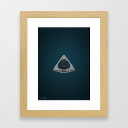 Abstract Stone Framed Art Print