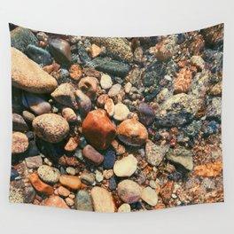 Ocean Pebbles Wall Tapestry