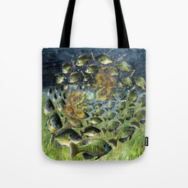 Bluegill Dragons Tote Bag