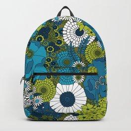 Vintage Florals Chrysanthemum Backpack