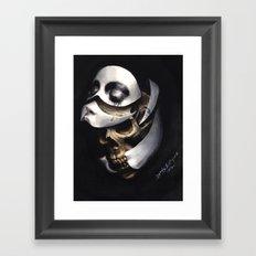mascara Framed Art Print