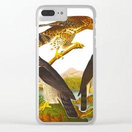 Goshawk Bird Clear iPhone Case