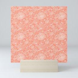 Nautilus pattern Mini Art Print