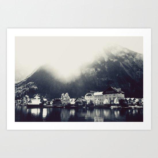 Hallstättersee, Austria Art Print