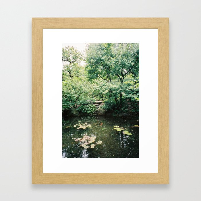 Veins Framed Art Print