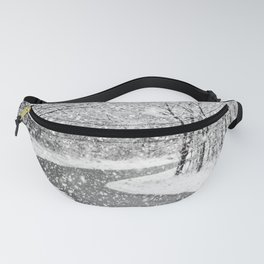 winter in the park Fanny Pack