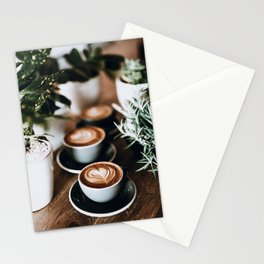 Latte Stationery Cards