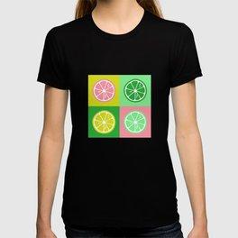Pastel lemon colorful pop-art T-shirt