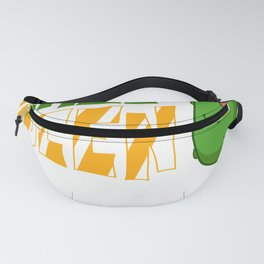 Pickle Queen Gift Dill Pickle Cucumber Fanny Pack