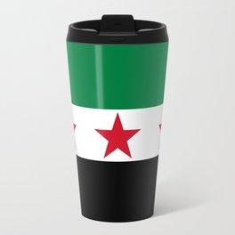 Syrian Independence Flag  High quality Travel Mug