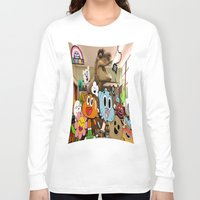 gumball Long Sleeve T-shirts featuring GUMBALL by rosita