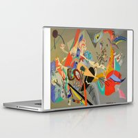 kandinsky Laptop & iPad Skins featuring Kandinsky Composition Study by Andrew Sherman