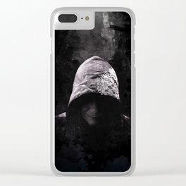 Victorian Assassin Hood - Color Clear iPhone Case