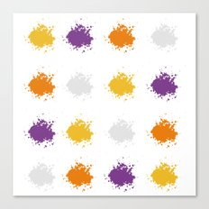 Colorful Mistakes Canvas Print