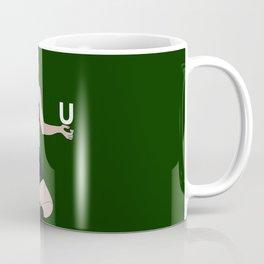 Big butt green Coffee Mug