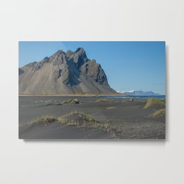 A Rock, An Island (Iceland) Metal Print