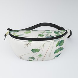 Eucalyptus Watercolor Fanny Pack
