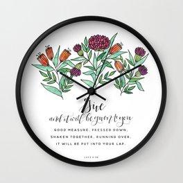 Give Wall Clock