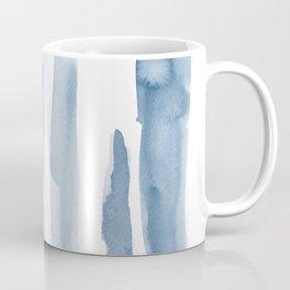 Watercolor blue strokes Coffee Mug