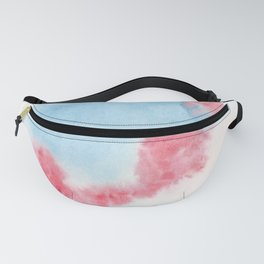 150306 Abstract Watercolor An Imperfect Circle 14 Fanny Pack