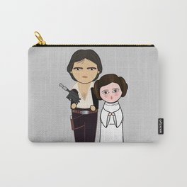 Kokeshis H Solo and Leia Carry-All Pouch