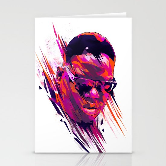 The Notorious B.I.G: Dead Rappers Serie Stationery Cards