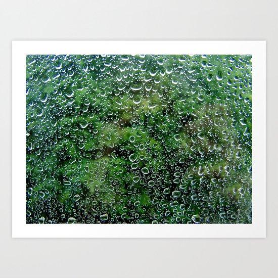 It's a rainy day Art Print