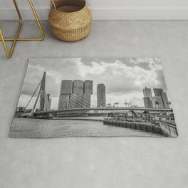 Rotterdarm cityscape Rug