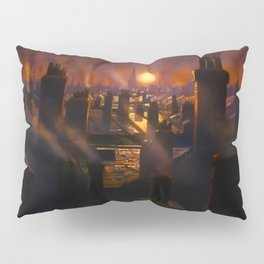 Mary Poppins Rooftop Sunset Pillow Sham