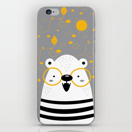 Bear 1 iPhone & iPod Skin