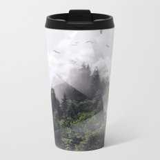 Forest triangle Metal Travel Mug