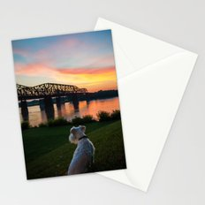 MISSISSIPPI RIVER SUNSET Stationery Cards