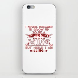 Super Sexy Sailor iPhone Skin