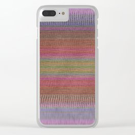 Woven Wonders Multi Clear iPhone Case