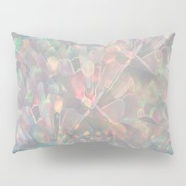 Sparkling Crystal Maze Abstract Pillow Sham