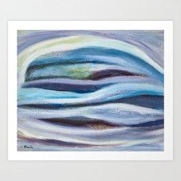 Cool Tranquil Dream Art Print