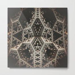 Sierpinski Bliss Metal Print