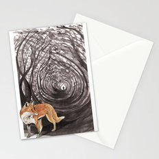 I am a Fox Stationery Cards