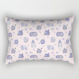 Winter is arriving. Get cozy Rectangular Pillow