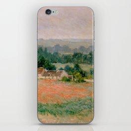 Haystack at Giverny iPhone Skin